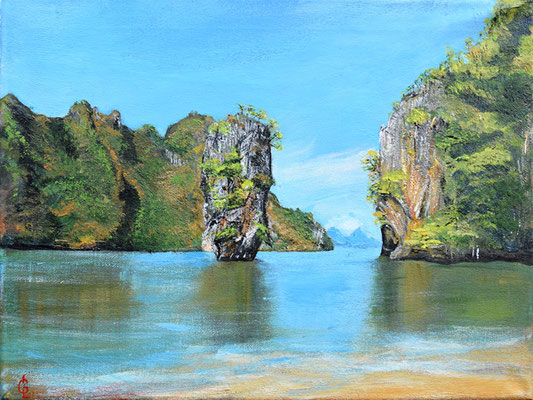 Bild-Nr. 1925 Titel: James Bond-Island - Thailand
