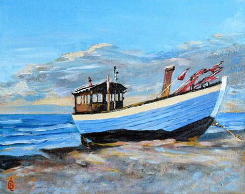 Bild-Nr. 7913 Titel: Fischerboot - Ostsse