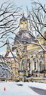 Bild-Nr. 7908 Titel: Wintertag in Dresden