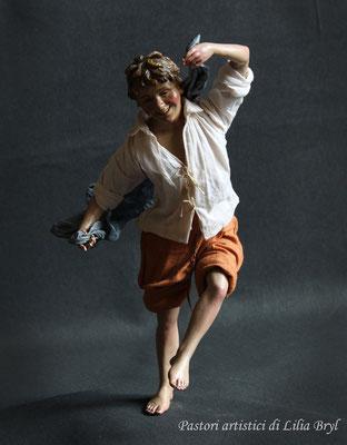 Pastori artistici: Ragazzo che balla