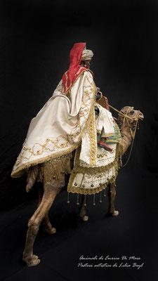 Processione dei Re Magi di Lilia Bryl. Pastori napoletani stile settecento