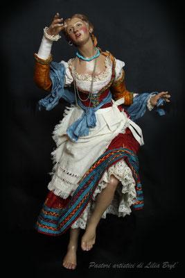 Danzatrice, pastore napoletano stile '700 di Lilia Bryl, DAN011