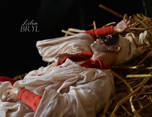 Pulcinella, particolare. Lilia Bryl