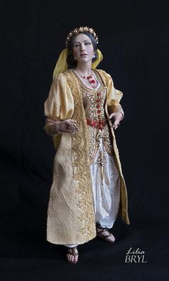 Georgiana, un pastore napoletano stile 700