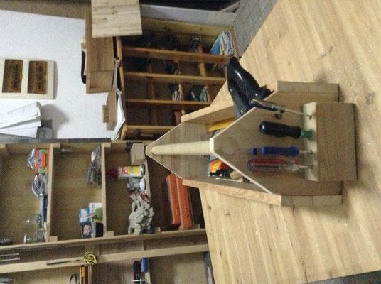 Fabrication d'une caisse à outils