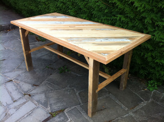 Fabrication d'une table solide