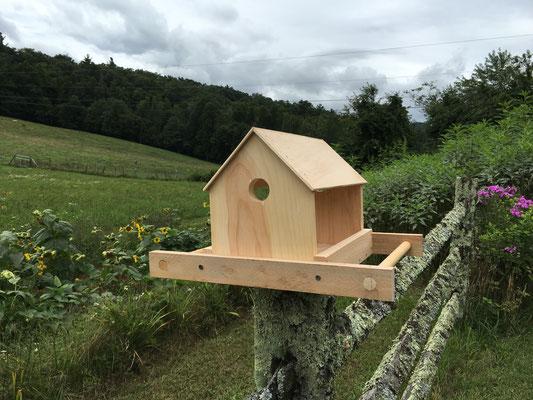Fabrication d'une mangeoire pour les oiseaux