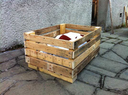 Fabrication d'une caisse de rangement