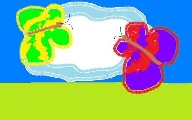 Сказочные бабочки. Терентьев Егор 10 лет, г. Реутов