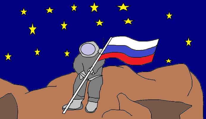 Космонавт. Дворянинов Даня 9 лет, г. Реутов