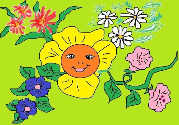 Цветы. Токарева Юлия 14 лет г. Балашиха
