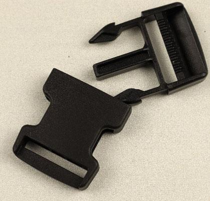 Steckschnalle Kunststoff 30 mm