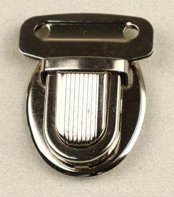 Steckschloss silber 2,5 cm