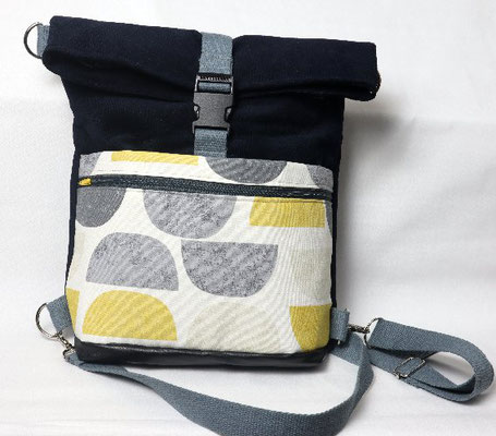 2 in 1 - Tasche und Rucksack