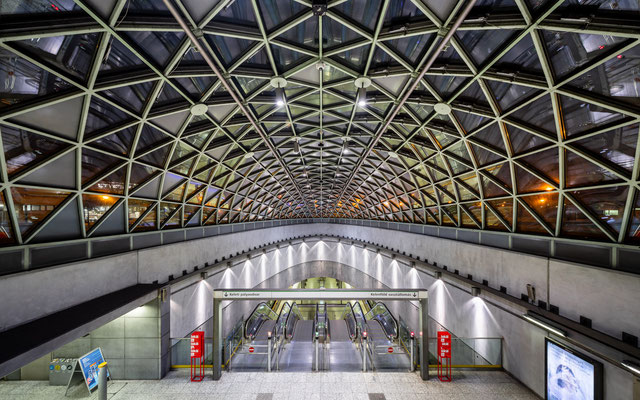 Bikás Park Metro Station Budapest