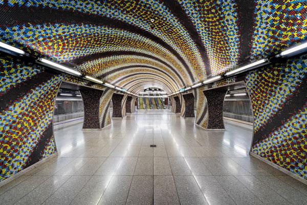 Szent Gellért tér Metro Station Budapest