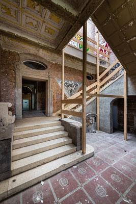 Treppenhaus der Villa Baltic
