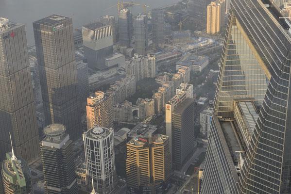 Aussichtsplattform des Shanghai Towers