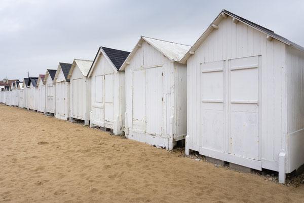 Ein Strandhäuschen zu haben, gehört hier zum guten Ton. Sie zu pflegen, scheinbar weniger.