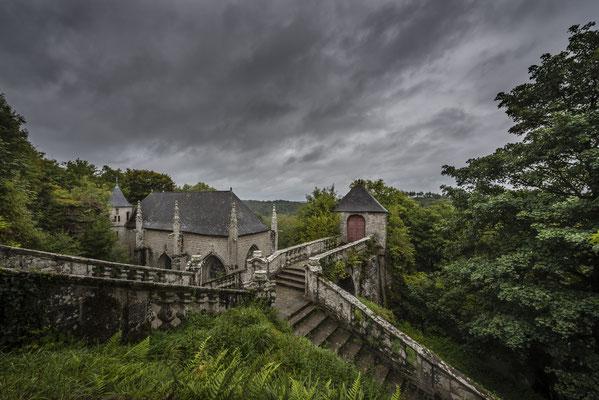 Kapelle Sainte-Barbe bei Le Faouët