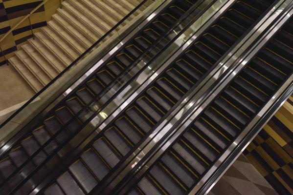 Treppenkunst im Shanghai Tower