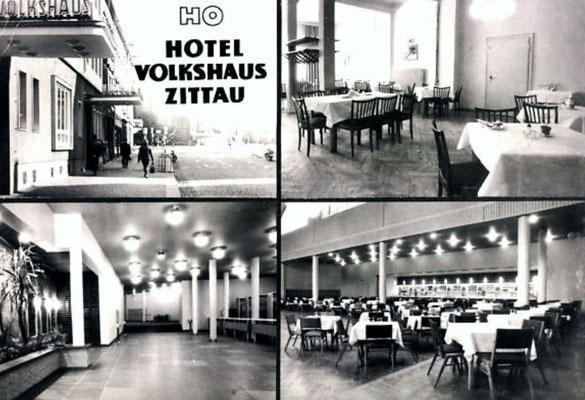 ca. 1970 Volkshaus-Reklame