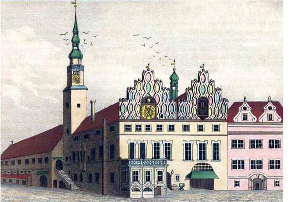 1757-davor-Zittauer Rathaus