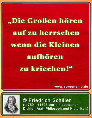 Zitat Friedrich Schiller