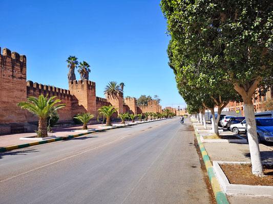 Marokko - Taroudant - Stadtmauer