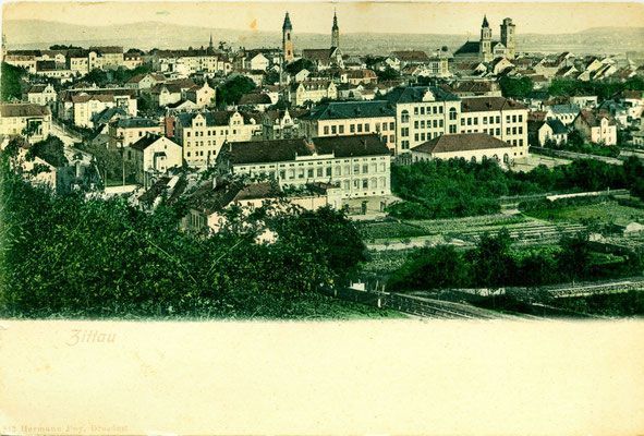 Postkarte altes Zittau
