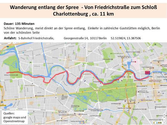 Von Friedrichstraße zum Schloß Charlottenburg
