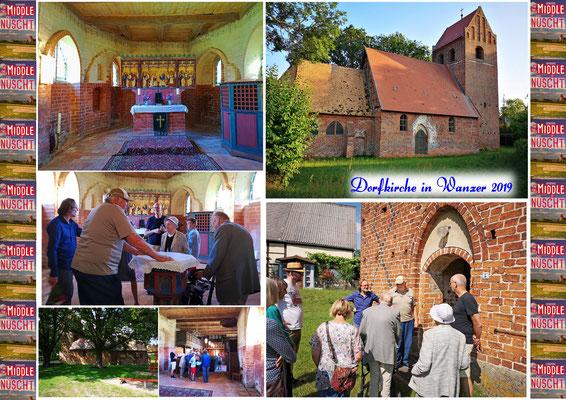 Dorfkirche in Wanzer