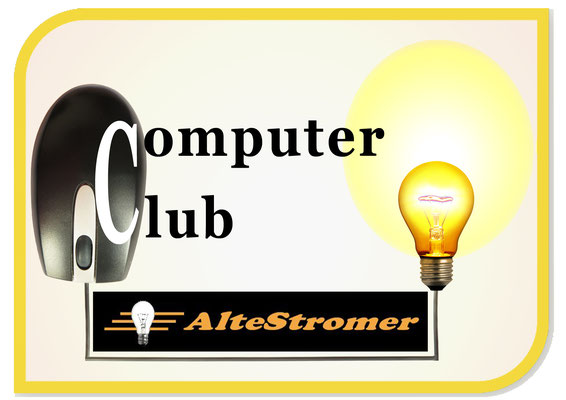 "Logo ComputerClub  ""Alte Stromer"""