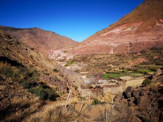 Marokko, Wandern bei Imlil