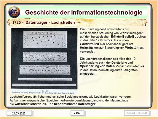 Lochstreifen 1725