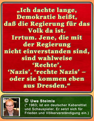 Zitat Uwe Steimle