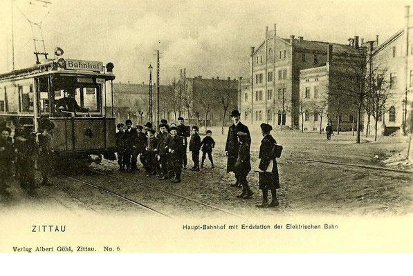 1902-1919-Zittau-Elektrizitätswerk