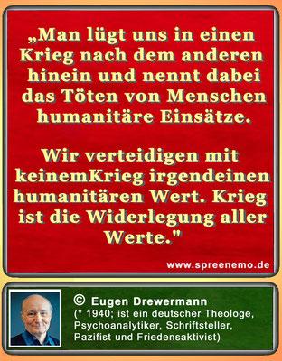 Zitat Eugen Drewermann