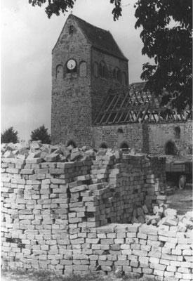 1948  Hönow  Kirche aus dem 13 Jhd.