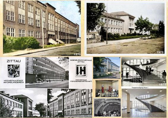 Collage IHZ gestern und heute