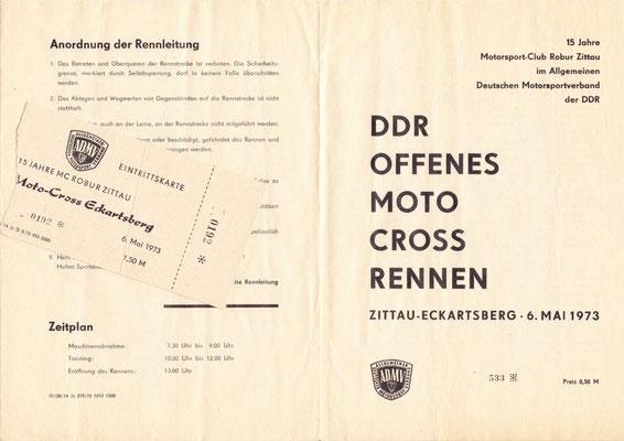 1973-DDR Offenes Moto Cross-Rennen