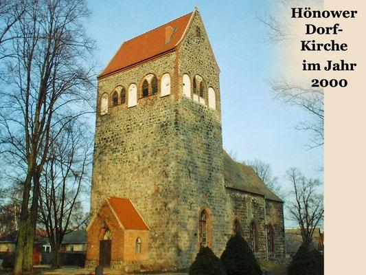 2000 Hönower Dorfkirche