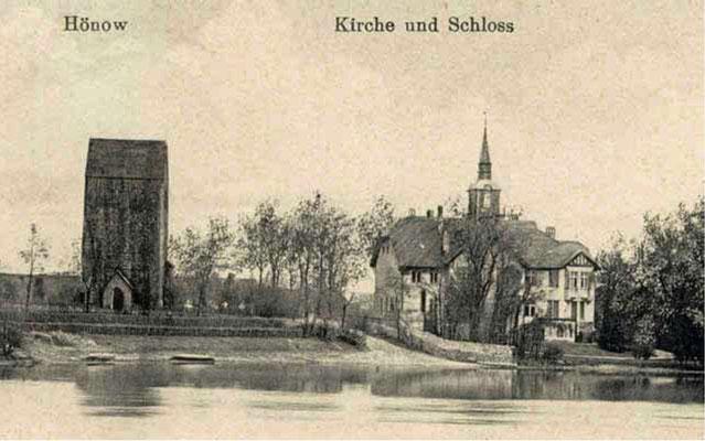 1929  Schloß Hönow