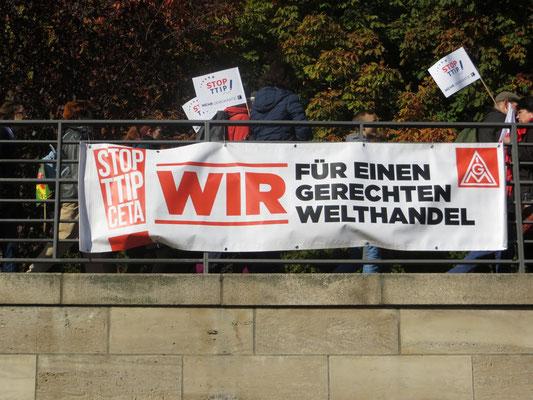 Anti TTIP-Demo 2015 in Berlin