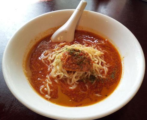 久しぶりに和平飯店で、冷やしトマトタンタン麺。次回は、My パルメザンチーズを持参しようかな。 【2013年8月7日】