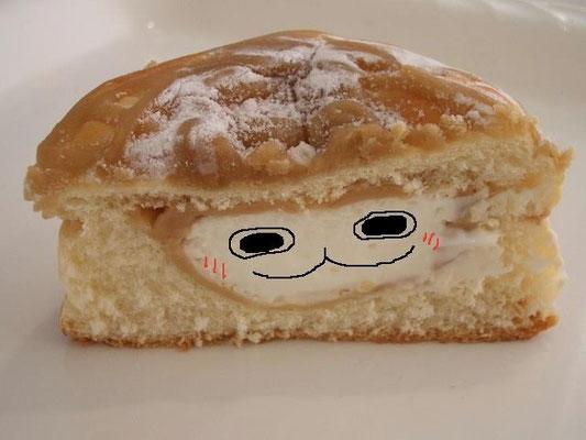 相棒のオリジナルパンに、ぴちょんくんが! 【制作日/2011年12月1日】