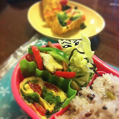 久しぶりの『美奈子さんの弁当で遊ぼう!』の コーナーだぉ。 【制作日/2012年1月9日】