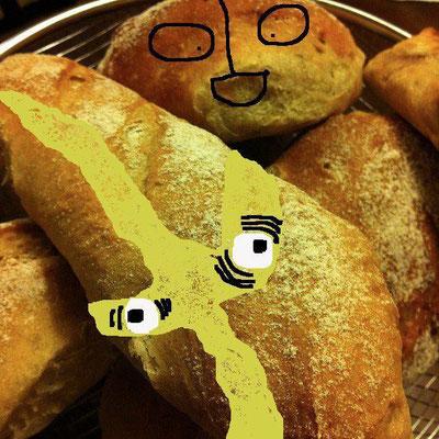 新コーナー、『美奈子さんの焼きたてパンで 遊ぼう!』だ! もふもふケムールぱんと ウルトラもどきぱんだ。しゅわっち! 【制作日/2012年2月4日】