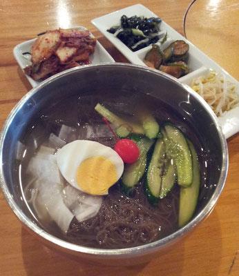 そすて今日も水冷麺。だって暑いんだもの。くりを 【2013年8月21日】