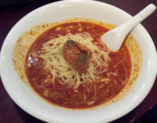 エビちゃんシリーズが飽きますたので、和平飯店の冷やしトマトタンタン麺にすますたよ。 【2013年8月30日】